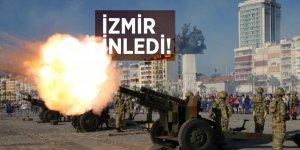 İzmir top atışlarıyla inledi!