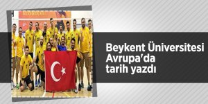Beykent Üniversitesi Avrupa'da tarih yazdı