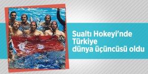Sualtı Hokeyi'nde Türkiye dünya üçüncüsü oldu