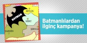 Batmanlılardan ilginç kampanya!