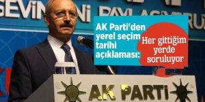 AK Parti'den yerel seçim tarihi açıklaması: Her gittiğim yerde soruluyor