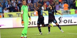Trabzonspor, Galatasaray'a 4 attı