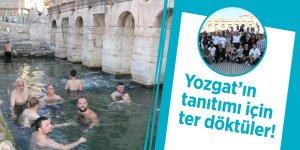 Oyuncular Yozgat'ın tanıtımı için ter döktü!