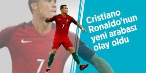 Cristiano Ronaldo'nun yeni arabası olay oldu