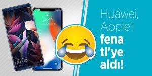 Huawei, Apple'ı fena ti'ye aldı!