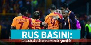 Rus basını: İstanbul cehenneminde yandık
