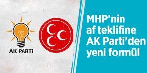 MHP'nin af teklifine AK Parti'den yeni formül