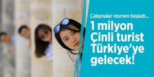 Çalışmalar resmen başladı... 1 milyon Çinli turist Türkiye'ye gelecek!