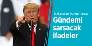 Eski avukatı Trump'ı harcadı! Gündemi sarsacak ifadeler