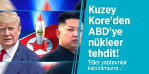 Kuzey Kore'den ABD'ye nükleer tehdit! 'Eğer yaptırımlar kaldırılmazsa...'