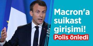 Macron'a suikast girişimi! Polis önledi