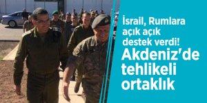 İsrail, Rumlara açık açık destek verdi! Akdeniz'de tehlikeli ortaklık