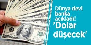 Dünya devi banka açıkladı! 'Dolar düşecek'