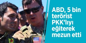 ABD, 5 bin terörist PKK'lıyı eğiterek mezun etti