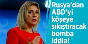 Rusya'dan ABD'yi köşeye sıkıştıracak bomba iddia!