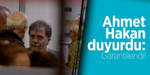 Ahmet Hakan duyurdu: Garantilendi!