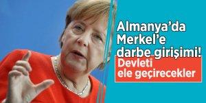 Almanya'da Merkel'e darbe girişimi! Devleti ele geçirecekler