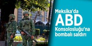 Meksika'da ABD Konsolosluğu'na bombalı saldırı