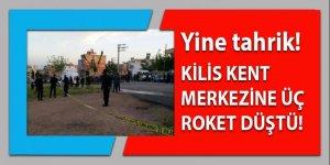 Kilis kent merkezine 3 roket düştü