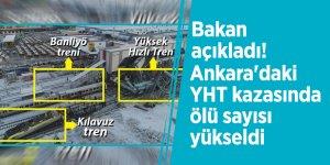 Bakanı açıkladı! Ankara'daki YHT kazasında ölü sayısı yükseldi