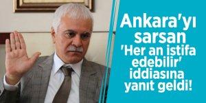 Ankara'yı sarsan 'Her an istifa edebilir' iddiasına yanıt geldi!