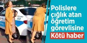 Mahkemeden polislere çığlık atan öğretim görevlisine ret!