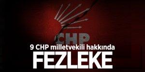 9 CHP milletvekili hakkında fezleke