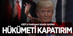 ABD'yi bekleyen büyük tehlike! Trump hükümeti kapatabilir