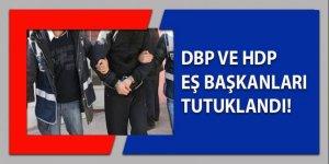 DBP ve HDP eşbaşkanlar tutuklandı
