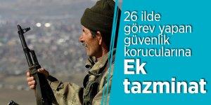 Erdoğan imzaladı! 26 ilde görev yapan güvenlik korucularına ek tazminat