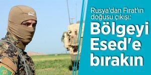 Rusya'dan Fırat'ın doğusu çıkışı: Bölgeyi Esed'e bırakın