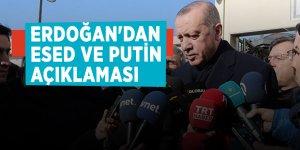 Erdoğan'dan Esed ve Putin açıklaması