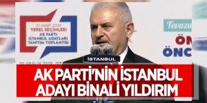 Erdoğan açıkladı! AK Parti'nin İstanbul aday Binali Yıldırım