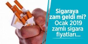 Sigaraya zam geldi mi? Ocak 2019 zamlı sigara fiyatları...