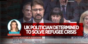 UK POLITICIAN DETERMINED TO SOLVE REFUGEE CRISIS