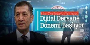 Bakan Ziya Selçuk'un Yeni Projesi: Dijital Dersane Dönemi Başlıyor