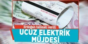 Erdoğan talimatı verdi: Ucuz elektrik müjdesi