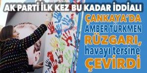 Çankaya'da Amber Türkmen rüzgarı havayı tersine çevirdi: AK Parti ilk kez bu kadar iddialı