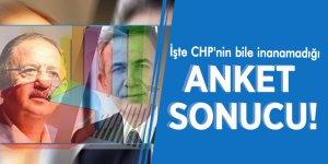 İşte CHP'nin bile inanamadığı anket sonucu!