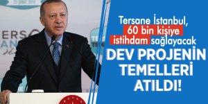 Dev projenin temelleri atıldı! Tersane İstanbul, 60 bin kişiye istihdam sağlayacak