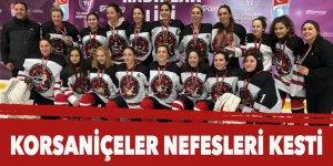 Korsaniçeler nefesleri kesti : Altın golle gelen şampiyonluk yine Buz Korsanlarının oldu