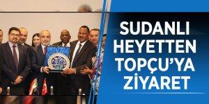 Sudanlı Heyetten Topçu'ya Ziyaret