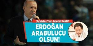 Pakistan'dan önemli teklif: Erdoğan arabulucu olsun!