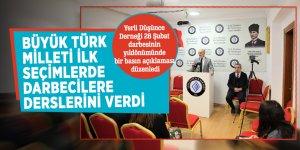 """Topçu: """"Büyük Türk milleti ilk seçimlerde darbecilere derslerini verdi"""""""