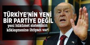 MHP lideri Devlet Bahçeli'den çok sert yeni parti açıklaması