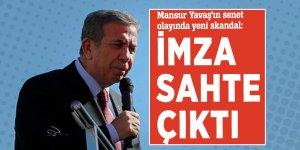 Mansur Yavaş'ın senet olayında yeni skandal: İmza sahte çıktı