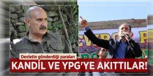 Devletin gönderdiği paraları Kandil ve YPG'ye akıttılar!