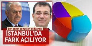 Son anket sonuçları açıklandı! İstanbul'da fark açılıyor