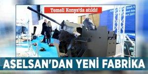 Temeli Konya'da atıldı! ASELSAN'dan yeni fabrika