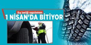Kış lastiği uygulaması 1 Nisan'da bitiyor